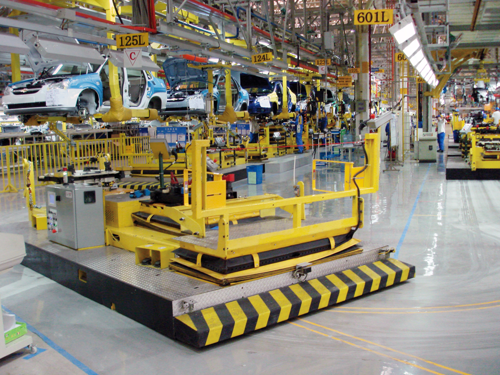 Automated Guided Vehicles (Conductix-Wampfler)
